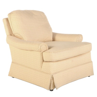 Wesley Hall Custom Upholstered Easy Armchair
