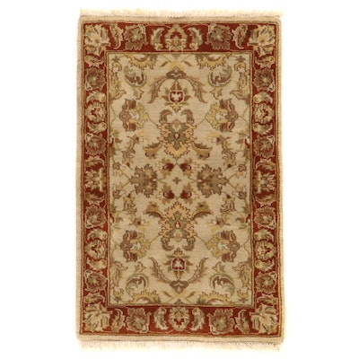 2'7 x 4'2 Indo-Persian Kashan Accent Rug