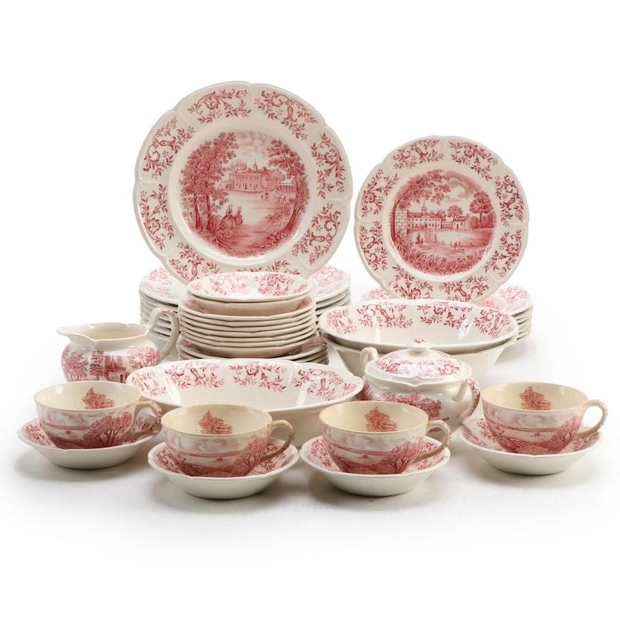 """English Mt. Vernon """"Windsorware"""" Ceramic Dinnerware"""
