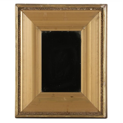 Wall Mirror in Gilt Composition Frame, Early to Mid 20th Century