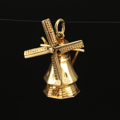 8K Articulated Windmill Charm