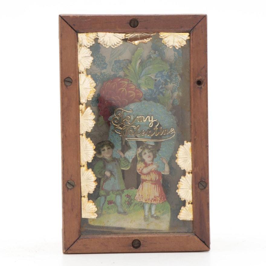 Wooden Valentine Keepsake Box