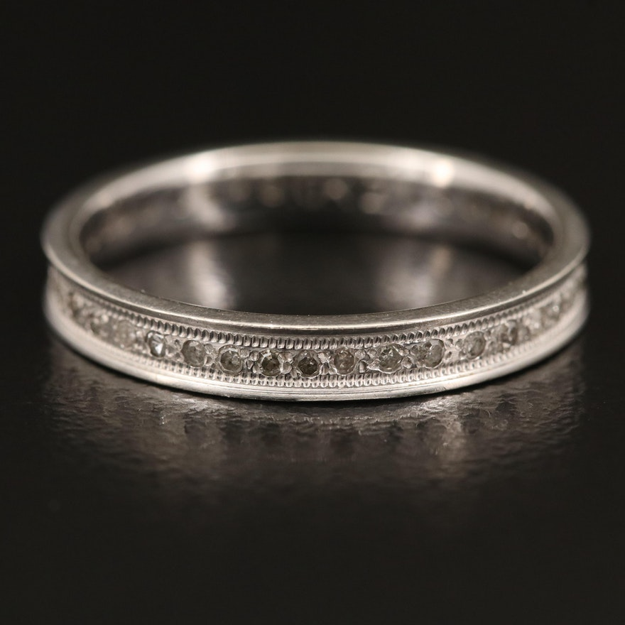 10K Diamond Eternity Band