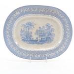 "Brownfield & Sons ""Palmyra"" Ironstone Platter, Late 19th Century"