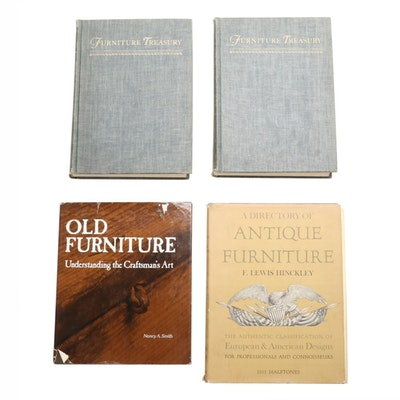"""Furniture Treasury"" by Wallace Nutting and More Books on Antique Furniture"