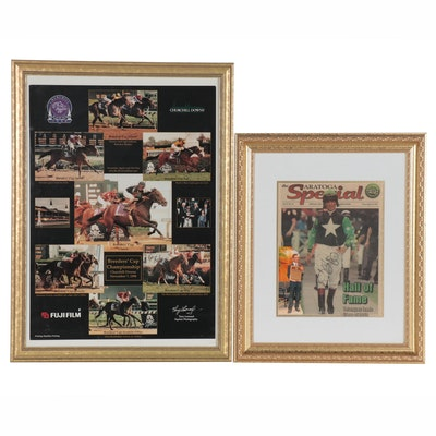 """Churchill Downs Breeders' Cup Photos and Signed """"Saratoga Special"""" 2012 Issue"""