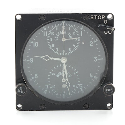 LeCoultre Chronometer Cockpit Clock