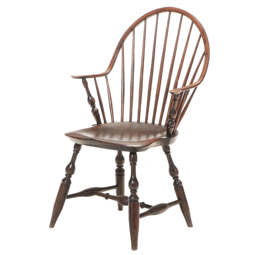 American Windsor Armchair, Late 18th/Early 19th Century