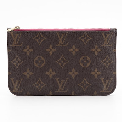 Louis Vuitton Neverfull Accessory Pochette in Monogram Canvas