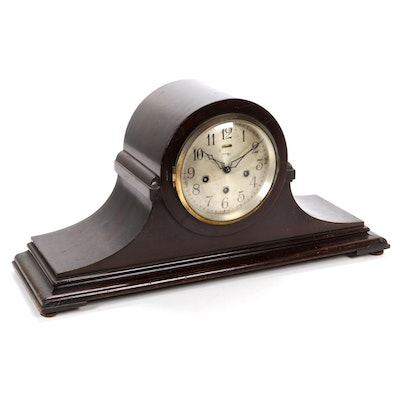 "Ansonia ""Sonia No. 1"" Tambour Mantel Clock, Early to Mid 20th Century"