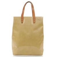 Louis Vuitton Read MM Tote in Monogram Vernis Leather