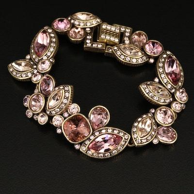 Heidi Daus Rhinestone Bracelet
