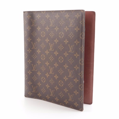 Louis Vuitton 4-Ring Binder in Monogram Canvas