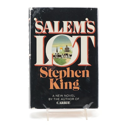 "Signed Book Club Edition ""'Salem's Lot"" by Stephen King, 1985"