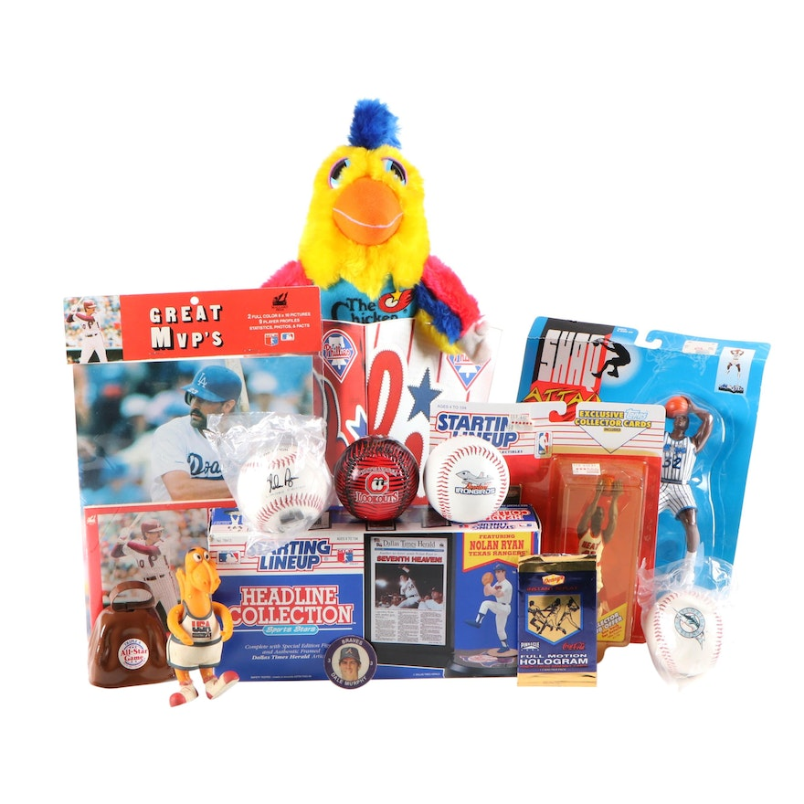 """The Chicken"" Stuffed Toy, Shaq and Nolan Ryan Starting Lineups, and More"