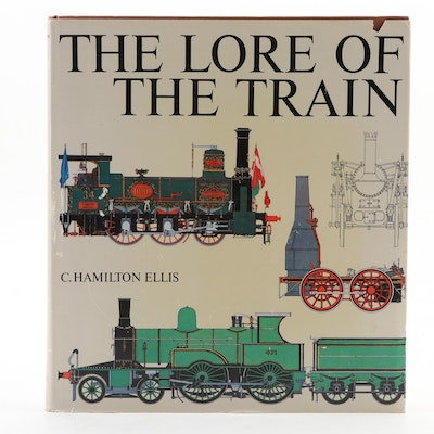 "First American Edition ""The Lore of the Train"" by C. Hamilton Ellis, 1973"