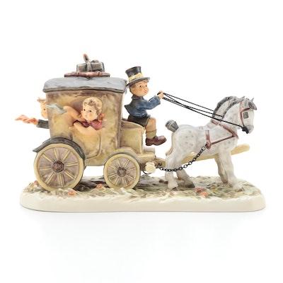 "Goebel Hummel Century Collection ""Fond Goodbye"" Porcelain Figurine, 1997"