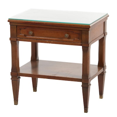 Bell by Morris of Richmond Walnut-Finished Wooden End Table