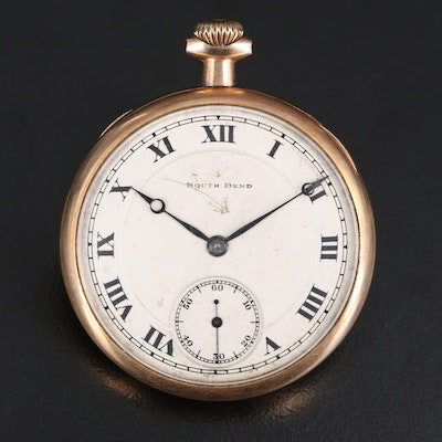 "1920 South Bend ""Chesterfield"" Pocket Watch"