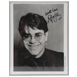 Elton John Signed and Framed Celebrity Photograph, COA