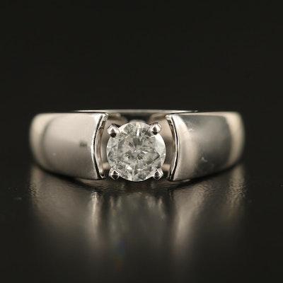 14K 0.48 CT Diamond Solitaire Ring