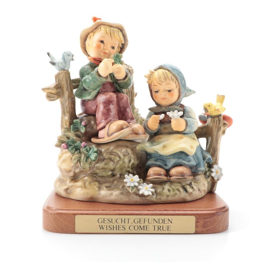 """Goebel Hummel Special Limited Edition """"First Love"""" Porcelain Figurine, 2004"""