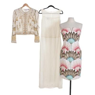Kay Unger, Victoria Royal, Laurence Kazar Evening Dresses and Jacket