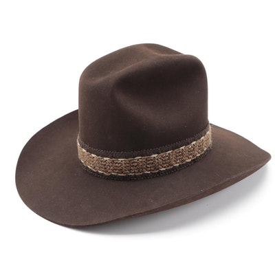 Resistol Stagecoach Beaver Felt Lariat Cowboy Hat in Cordova