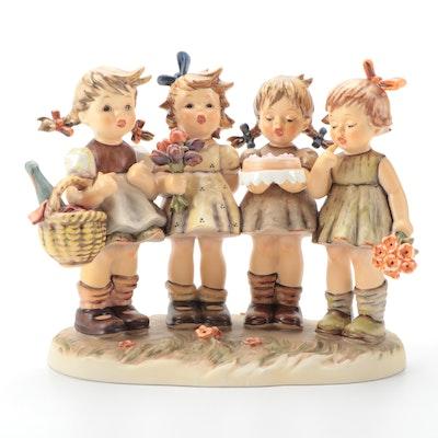 "Goebel Hummel Century Collection ""We Wish You the Best"" Porcelain Figurine"