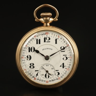 1928 Illinois Bunn Special Pocket Watch