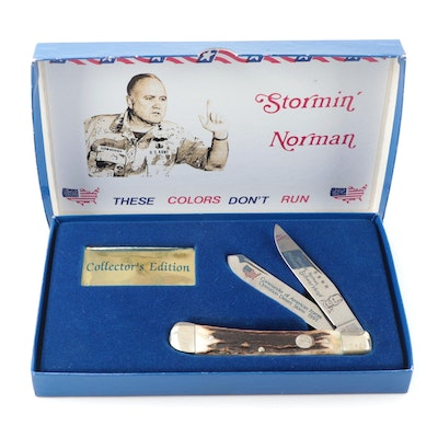 """Stormin' Norman"" Schwarzkopf Collector's Edition Pocket Knife"