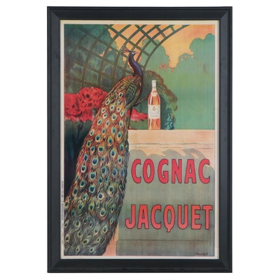 """Offset Lithograph after Camille Bouchet """"Cognac Jacquet,"""" 2004"""
