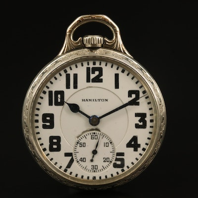 1928 Hamilton Railroad Grade Pocket Watch