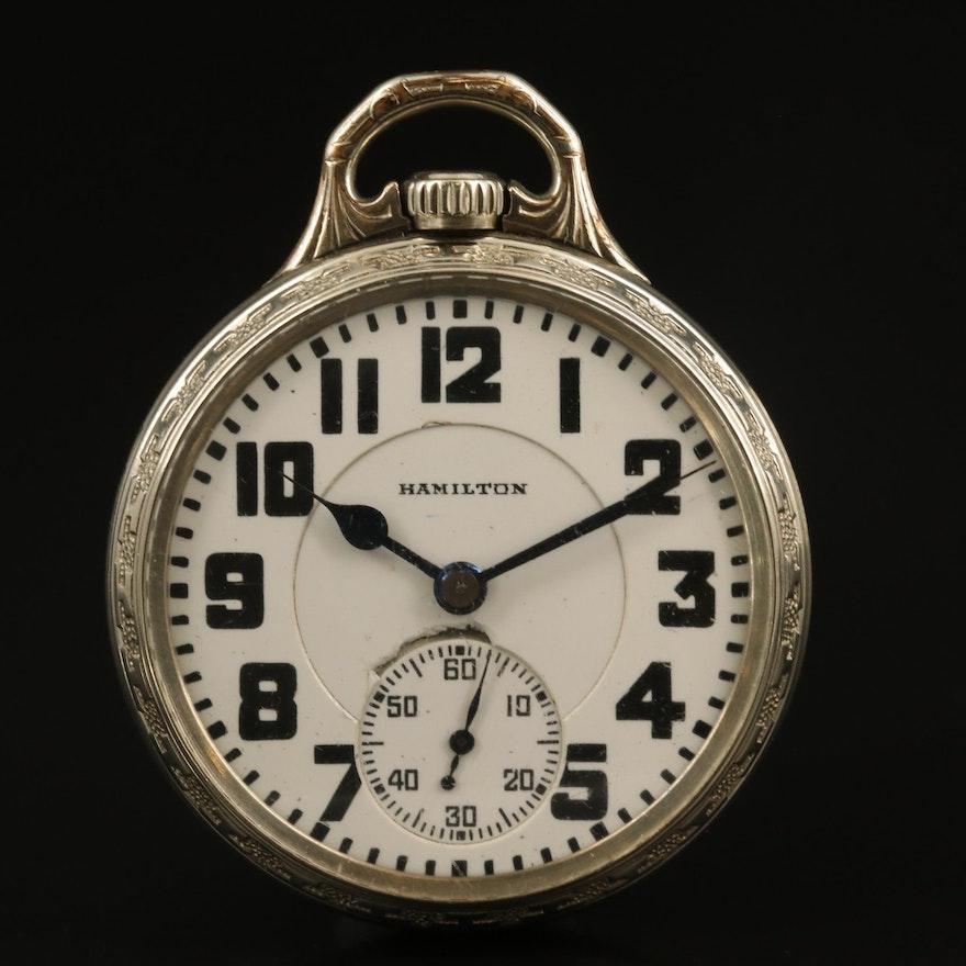 1928 Hamilton Railroad Grade Pocket Watch