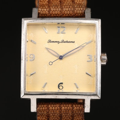 Tommy Bahama Sterling Silver Wristwatch