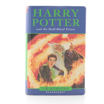"First UK Edition ""Harry Potter and the Half-Blood Prince"" by J. K. Rowling, 2005"