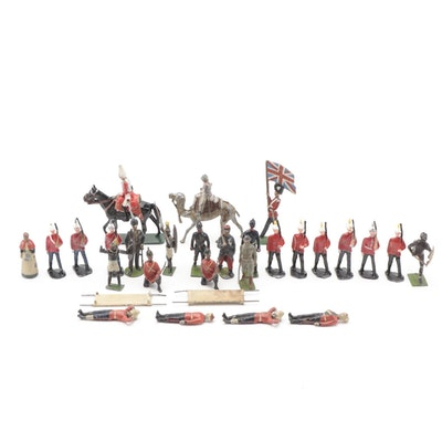 Britains Limited and Other British Soldier Figurines and More