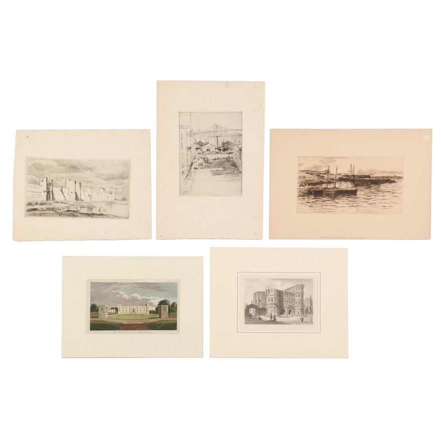 Colin Hunter and Other Landscape Etchings