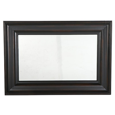 Pottery Barn Beveled Frame Wooden Wall Mirror