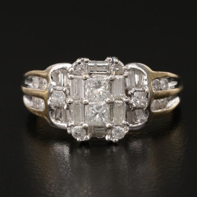 14K 1.24 CTW Diamond Ring