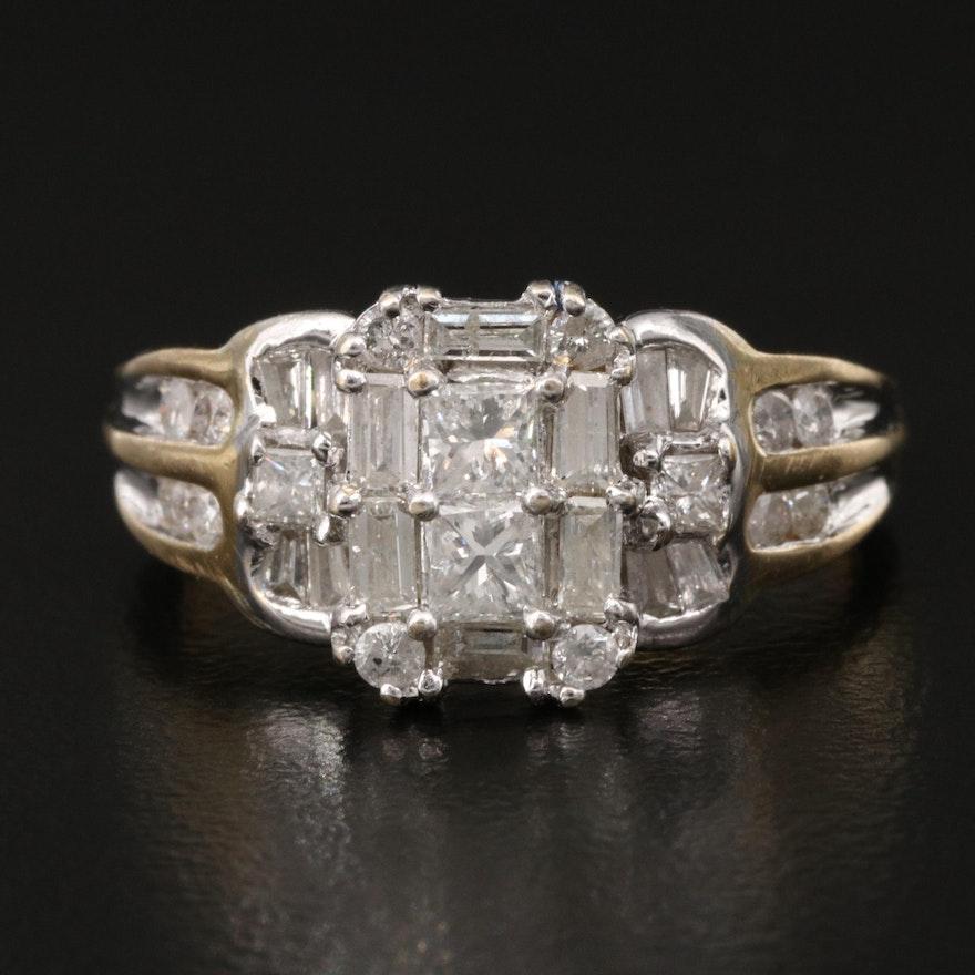 14K 1.24 CTW Diamond Ring