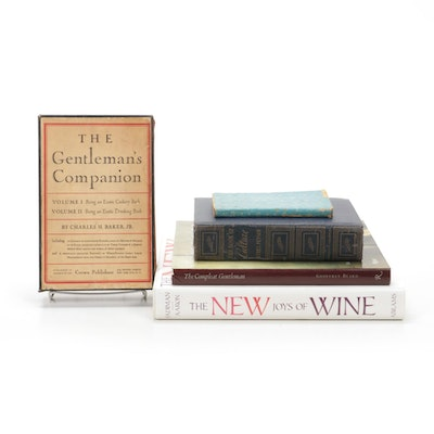 """The Gentleman's Companion"" with Books on Food, Wine, and Culture"