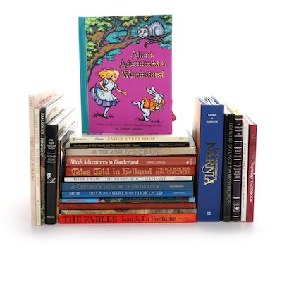 "Children's Book Collection Including ""The Chronicles of Narnia"" by C. S. Lewis"