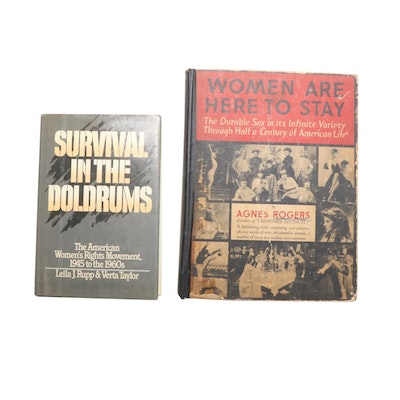 """""""Women Are Here to Stay"""" by Agnes Rogers and More, Mid/Late 20th Century"""