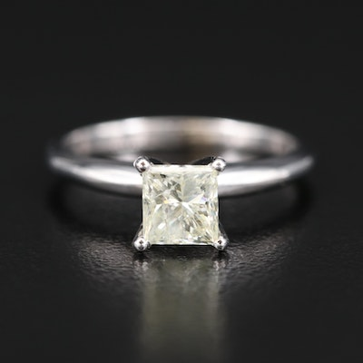 14K 1.05 CT Diamond Solitaire Ring