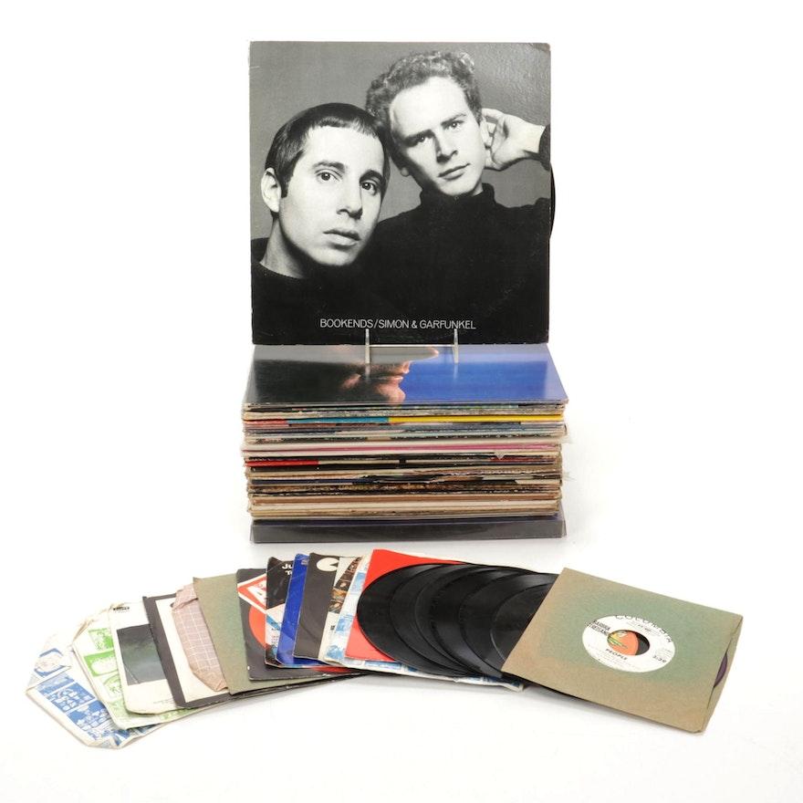 Simon & Garfunkel, Barbara Streisand, Harry Belafonte and Other Vinyl Records
