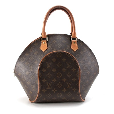 Louis Vuitton Ellipse MM Bag in Monogram Canvas