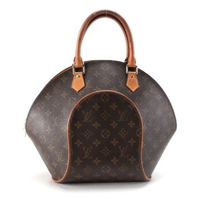 Louis Vuitton Ellipse MM Bag in Monogram Canvas