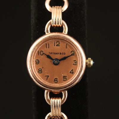 International Watch Co. for Tiffany & Co. 14K Wristwatch