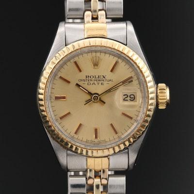 1971 Rolex Oyster Perpetual Date Wristwatch